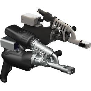 Экструдеры с щеточным двигателем со встроенной подачей воздуха