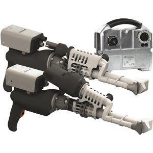 Экструдеры с бесщеточным двигателем со встроенной подачей воздуха
