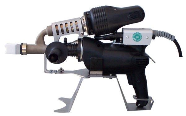 Ручной сварочный экструдер munsch-mak-18-s-b с подставкой